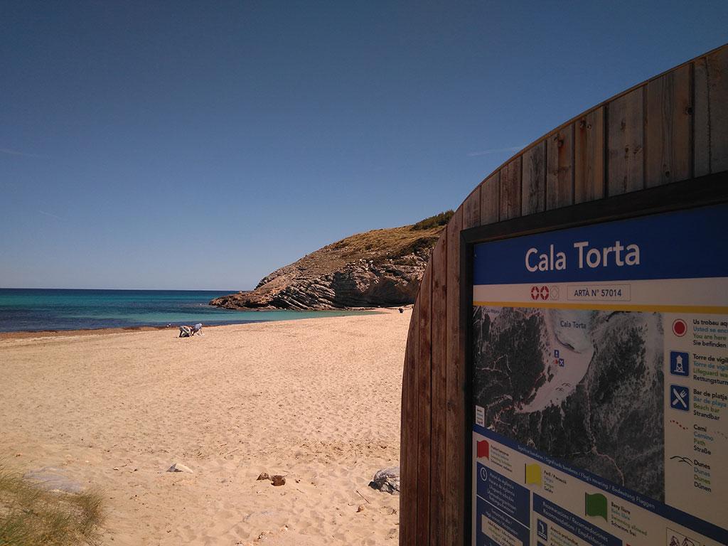 Cala Torta en Mallorca, Baleares