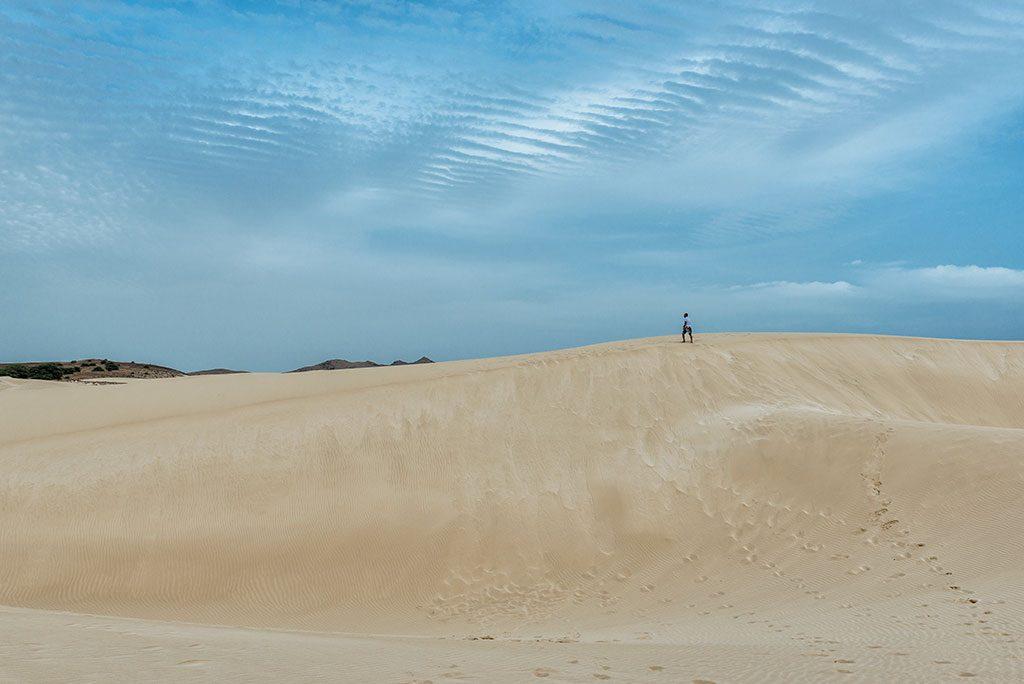 Viajar a Cabo Verde, desierto de Viana en Boa Vista