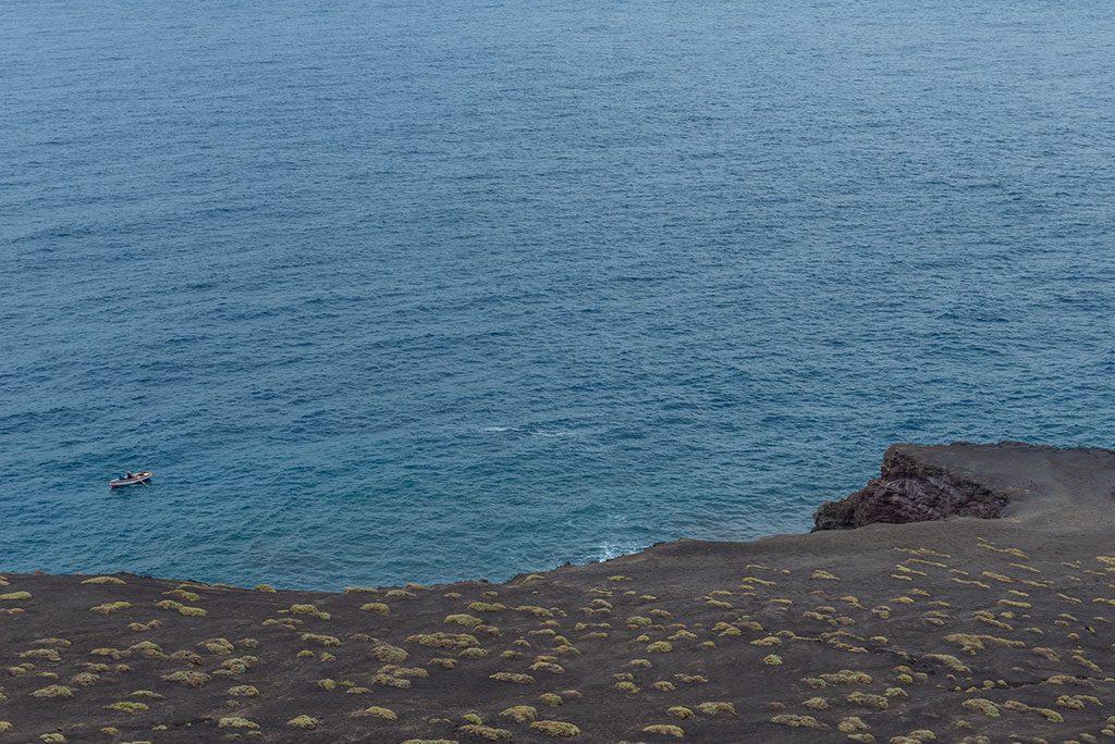 Viajar a Cabo Verde, costa de la isla de Fogo