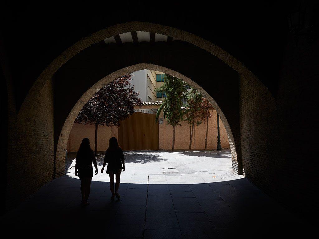 Arco del Dean en Zaragoza