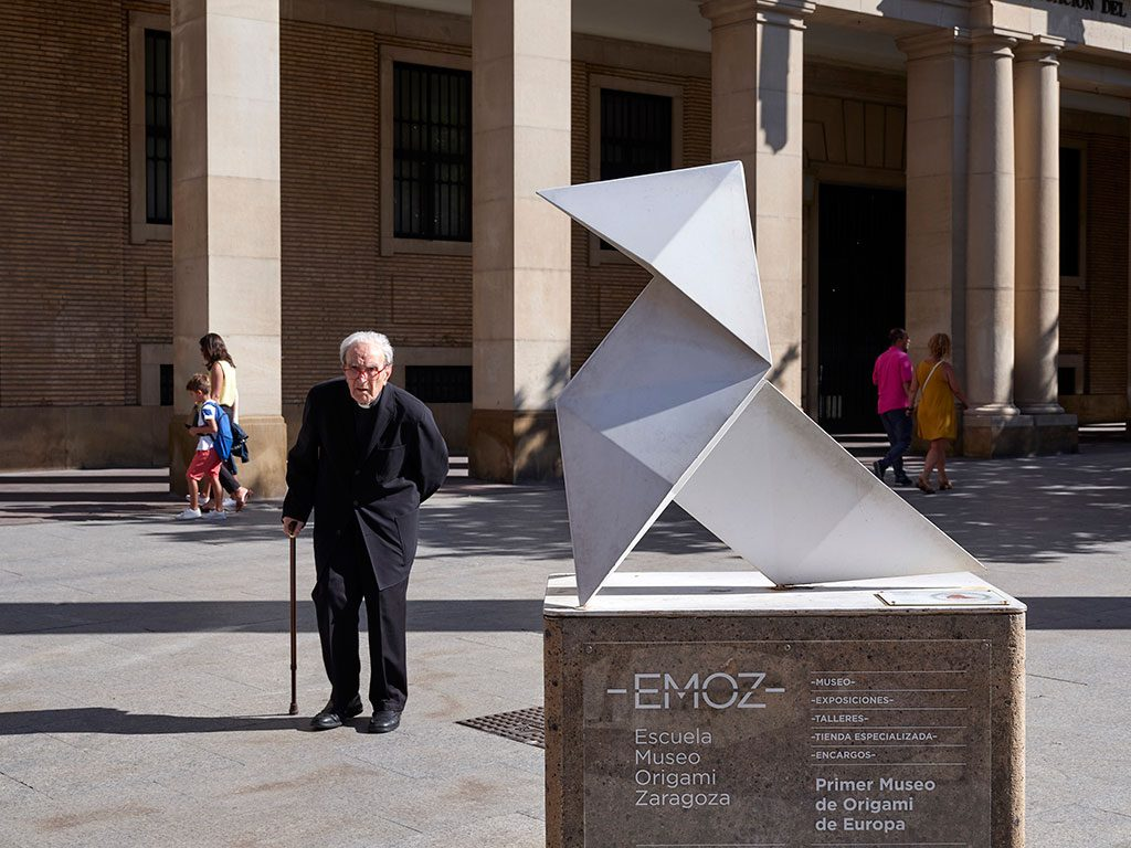 Exterior del Museo Origami Zaragoza
