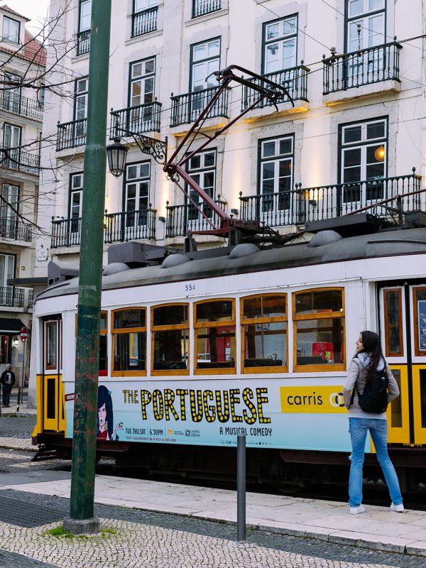 Tranvia 28 en Lisboa