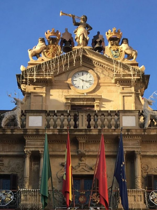 Detalle Ayuntamiento de Pamplona