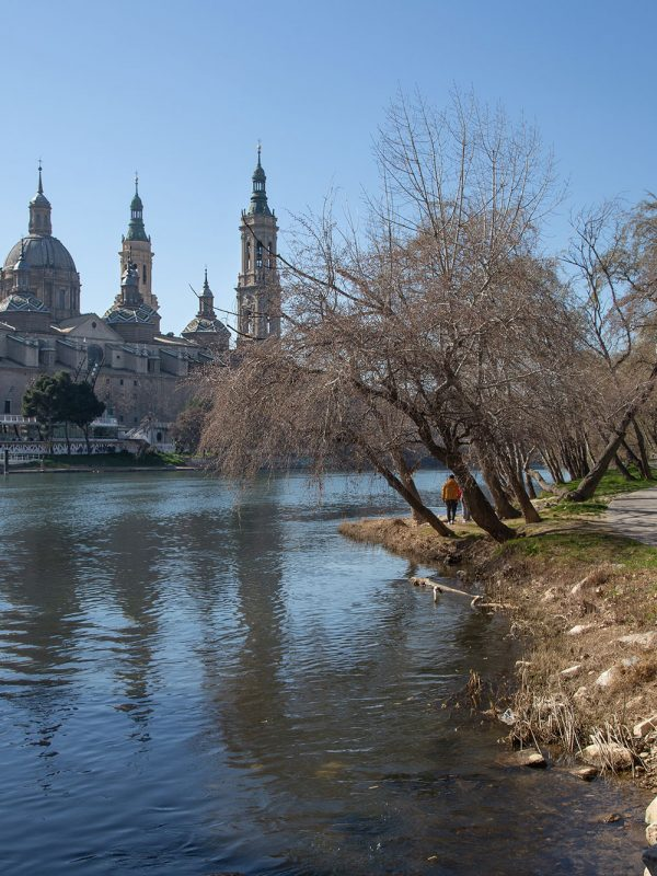 En bici por el Ebro