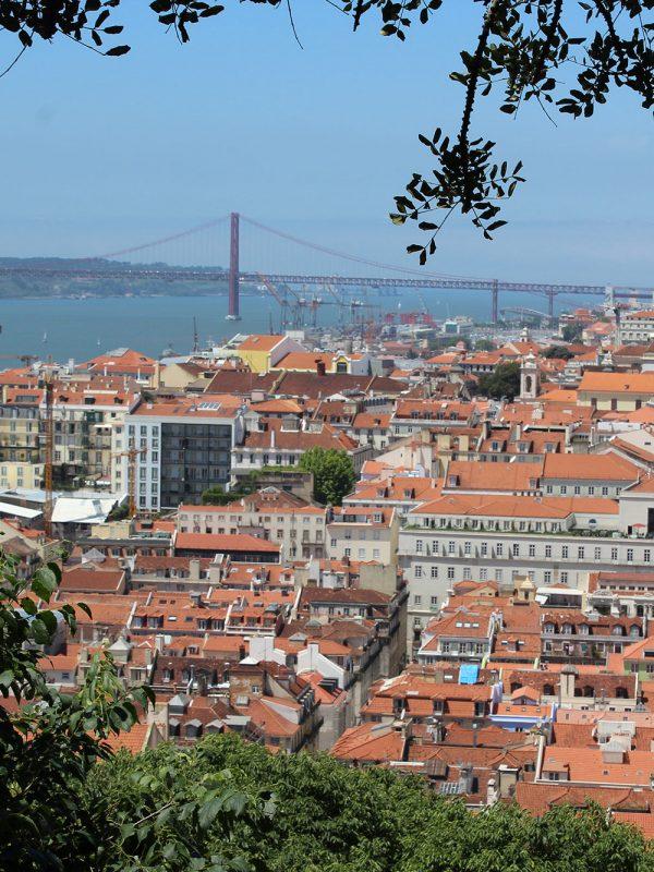 Escapada a Lisboa vistas desde Castillo de San Jorge