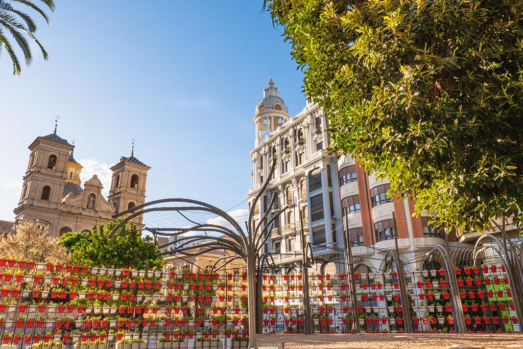 Plaza de Santo Domingo en Murcia