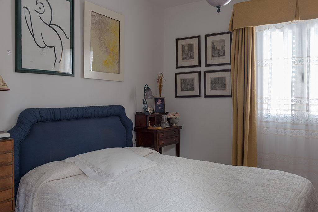 Dormitorio de José Saramago en su casa de Lanzarote