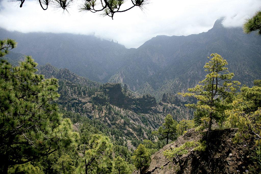 10 lugares que no puedes perderte en La Palma: Caldera de Taburiente