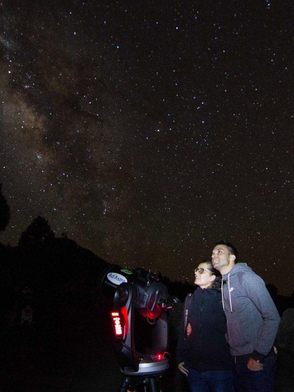 Astro experiencia Vip en La Palma para parejas