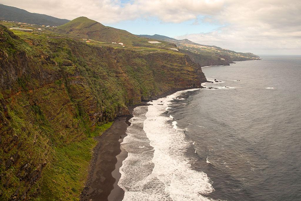 10 lugares que no puedes perderte en La Palma: Playa de Nogales