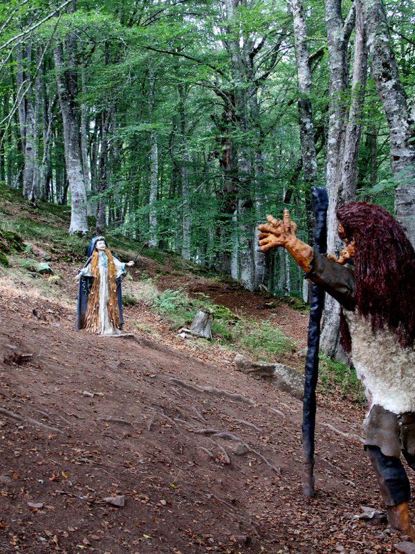 Bosque mitológico en Cantabria