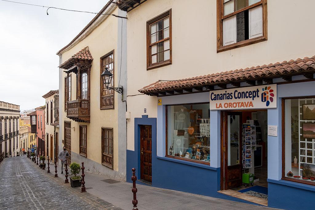 Tienda de artesanía en La Orotava