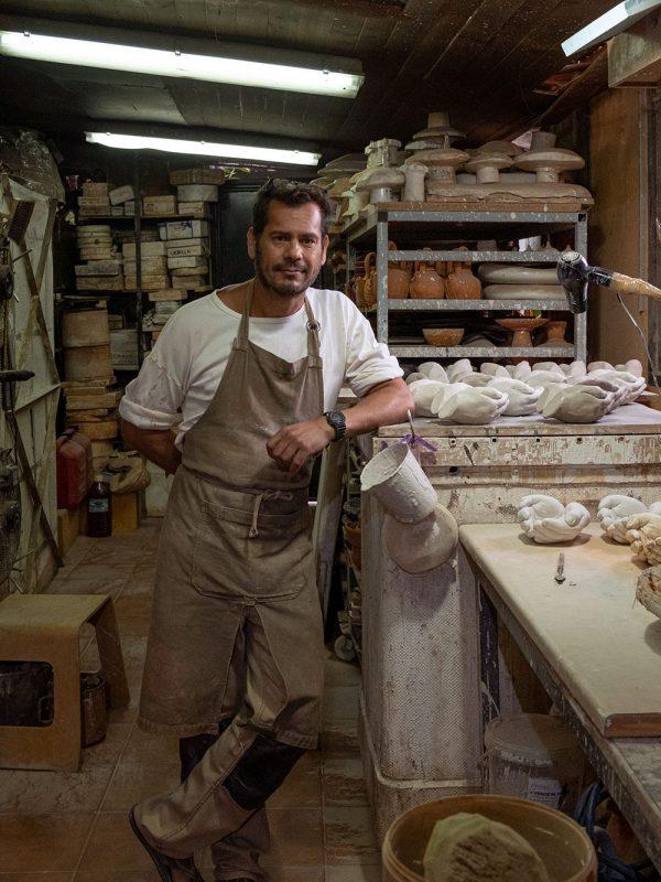 Gonzalo Martín ceramista