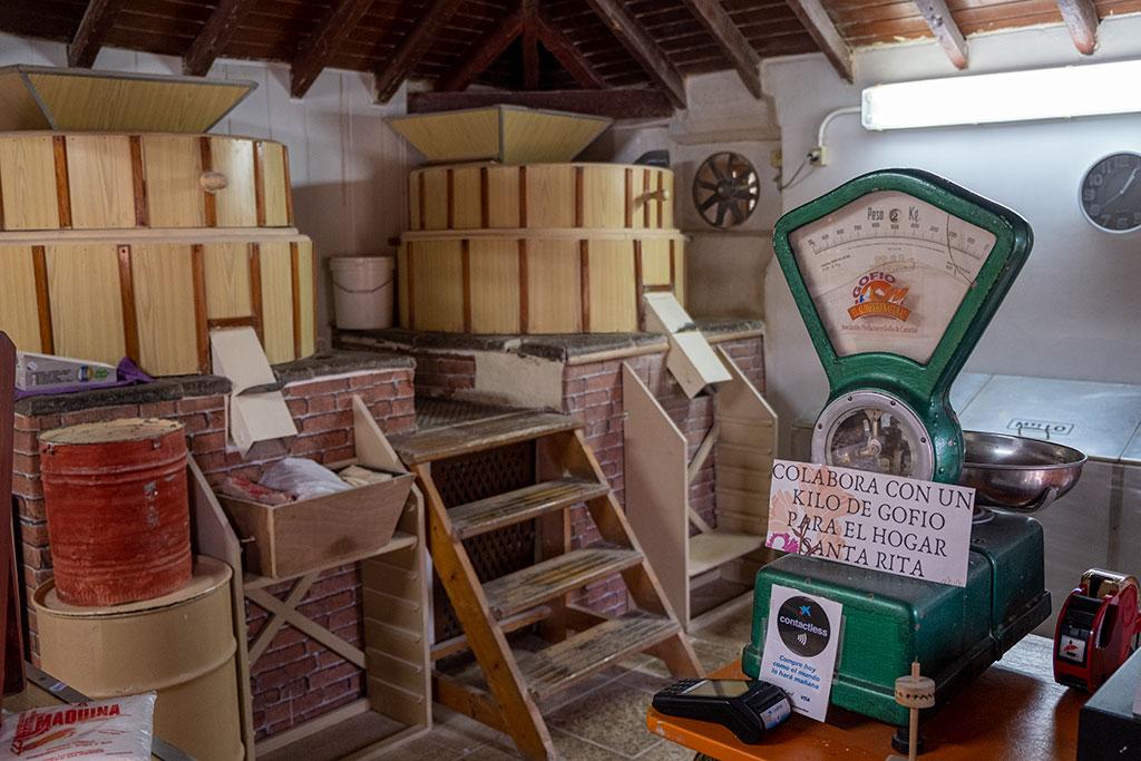 Molino de gofio La Máquina, artesanía en La Orotava
