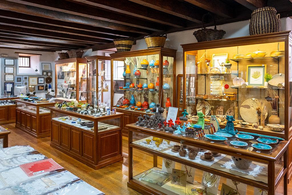 Tienda de Artenerife Casa Torrehermosa, artesanía en La Orotava