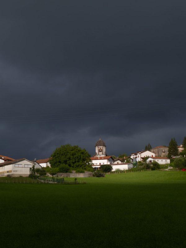 Vista del pueblo de Zugarramurdi